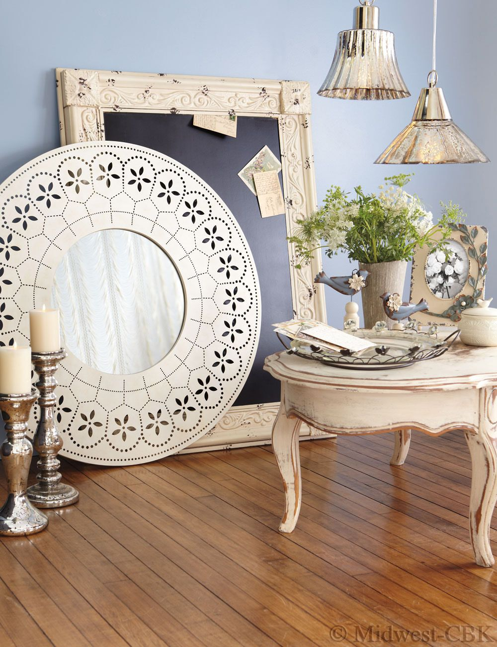 The Trend In Vintage Inspired Design Remains Strong In Home Decor