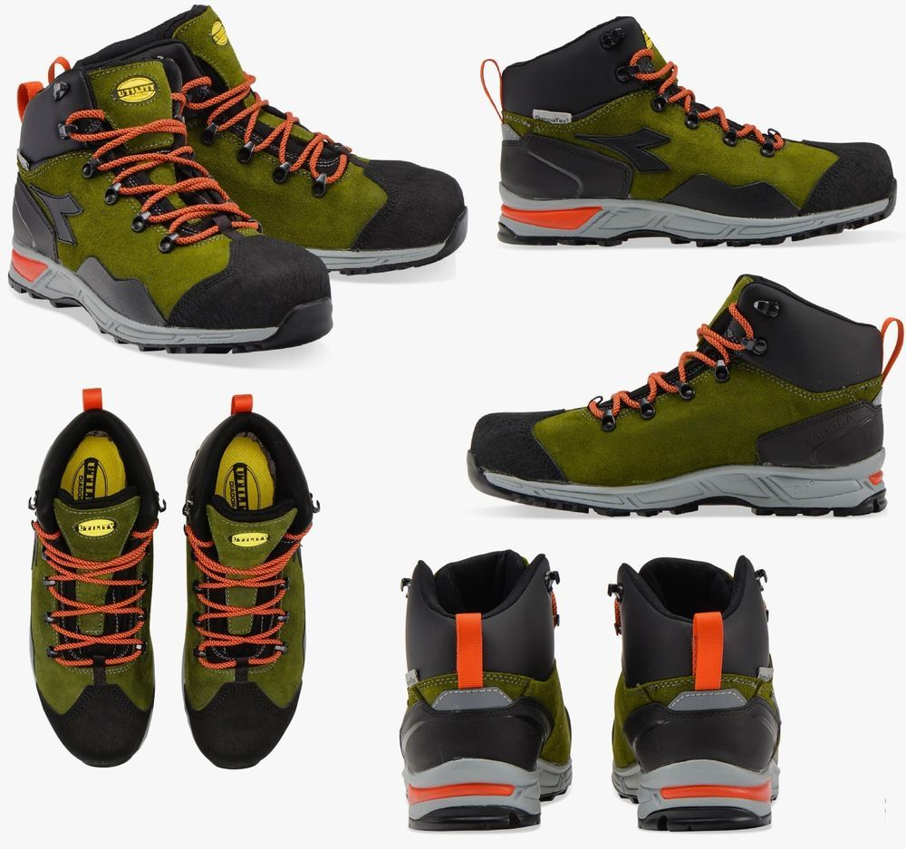 SCARPA D-TRAIL LEATHER HIGH DIADORA UTILITY Calzatura di sicurezza Mid cut  S3 053fbe206b9