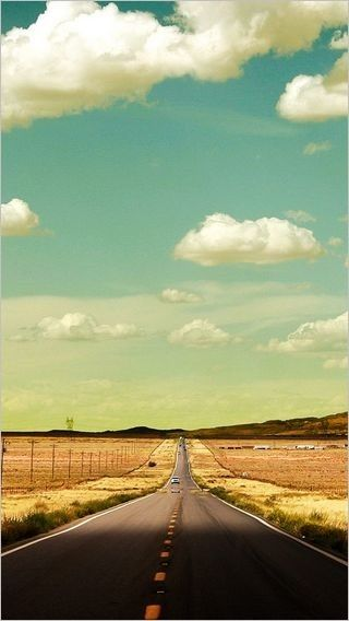 Open Road Wallpaper Collection For Iphone Series One 09