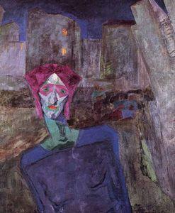 Nocturne - (Umberto Boccioni)