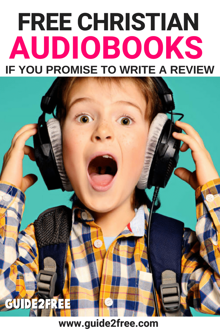 ign up for the Christian Audio Review Program and you can get FREE  AudioBooks! Reviewers