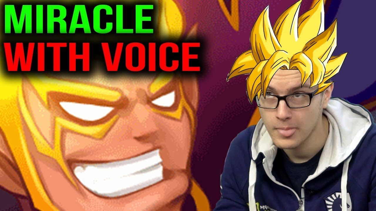 MIRACLE- [WITH VOICE] TIME TO PICK INVOKER Dota 2 | MIRACLE