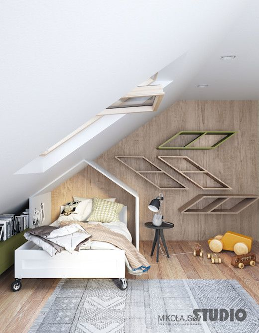 Photo of Cozy alcoves under sloping ceilings
