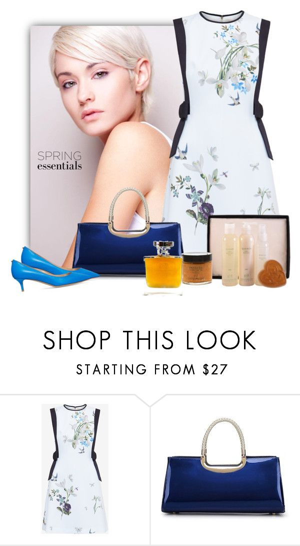 """""""In Bloom: Spring Perfume"""" by purenaturaldiva ❤ liked on Polyvore featuring beauty, Ted Baker, Valentino, Spring, naturalbeauty, organicbeauty, purenaturaldiva and springperfume"""