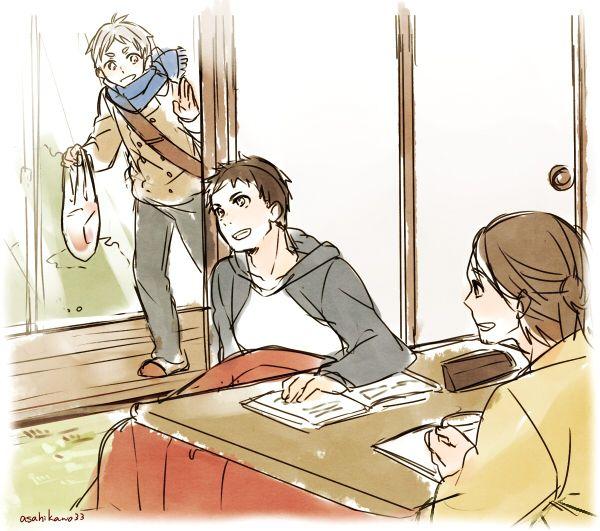 「HQログ2」/「朝日川日和」の漫画 [pixiv]