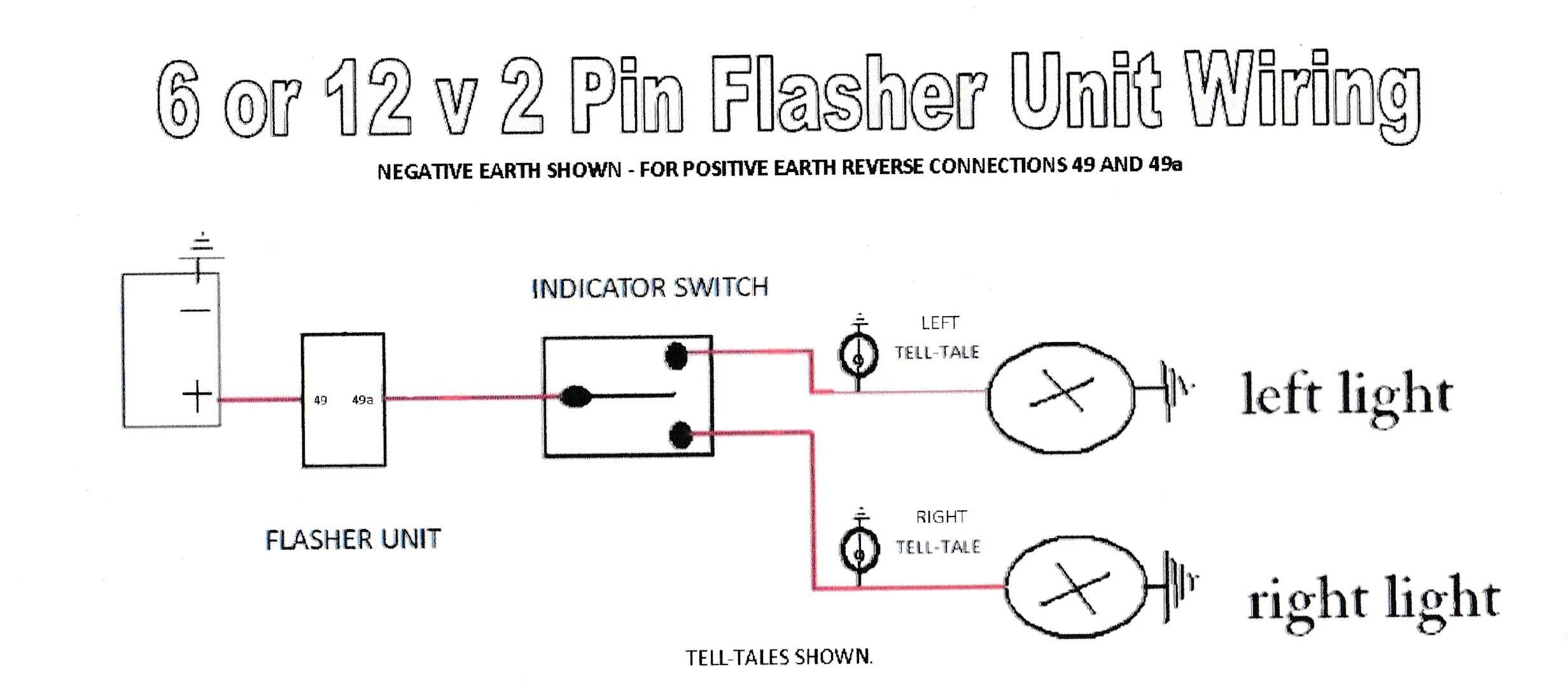 hight resolution of 2 pin flasher relay wiring diagram