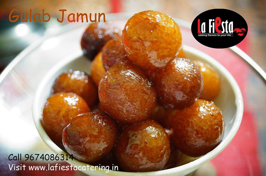 Gulab Jamun This Indian Sweet Item Made By Deep Frying Condensed Milk Mawa In Ghee And Dipped In Rose Water Scented Sug In 2020 Gulab Jamun Recipe Jamun Recipe Food