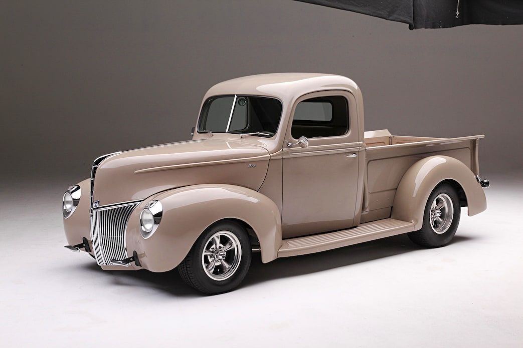 1940 Ford Pickup A Different Point Of View Pickup Trucks Ford