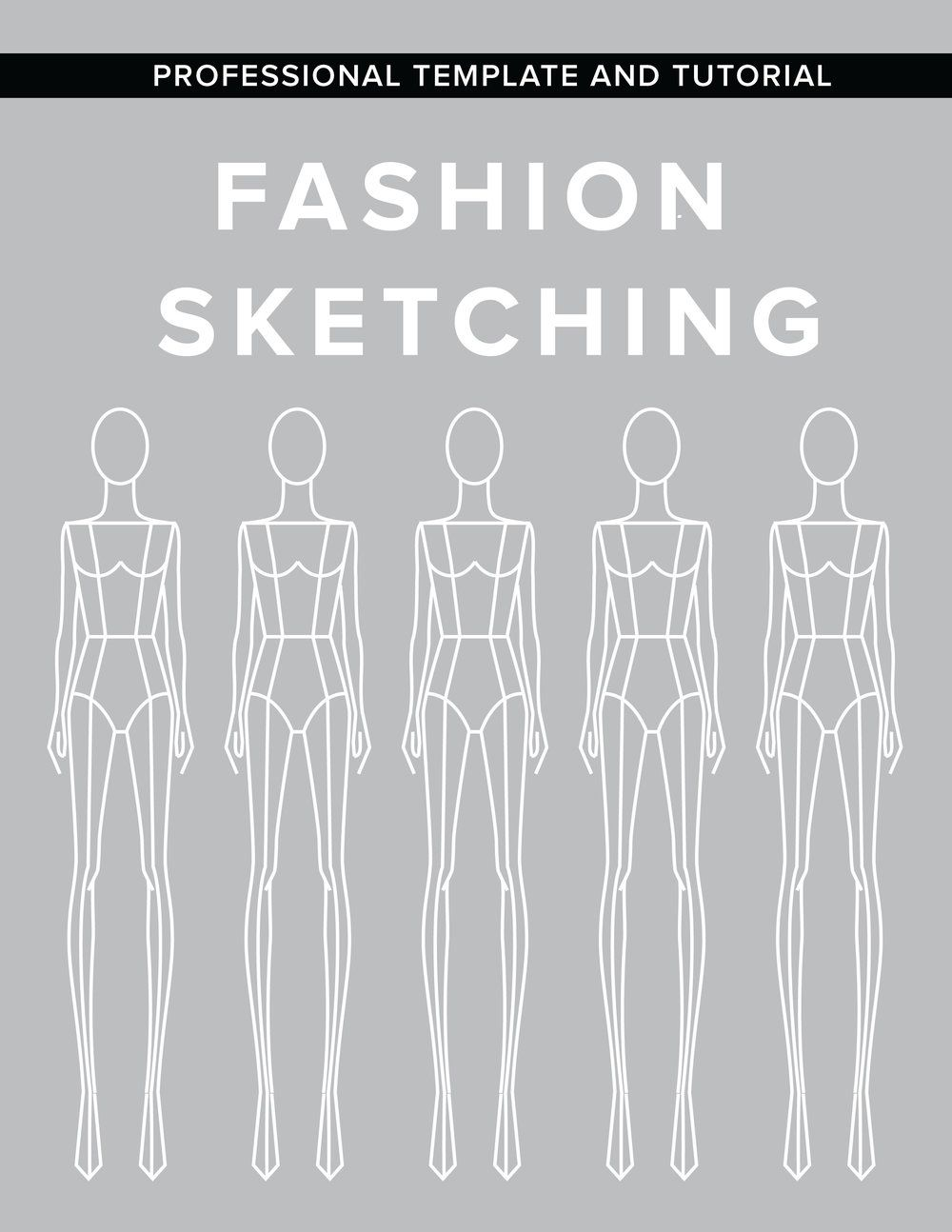 A 25 Page Pdf Guide On Drawing The Industry Standard Fashion Figure Fashion Illustrations Techniques Fashion Illustration Tutorial Fashion Figure Templates