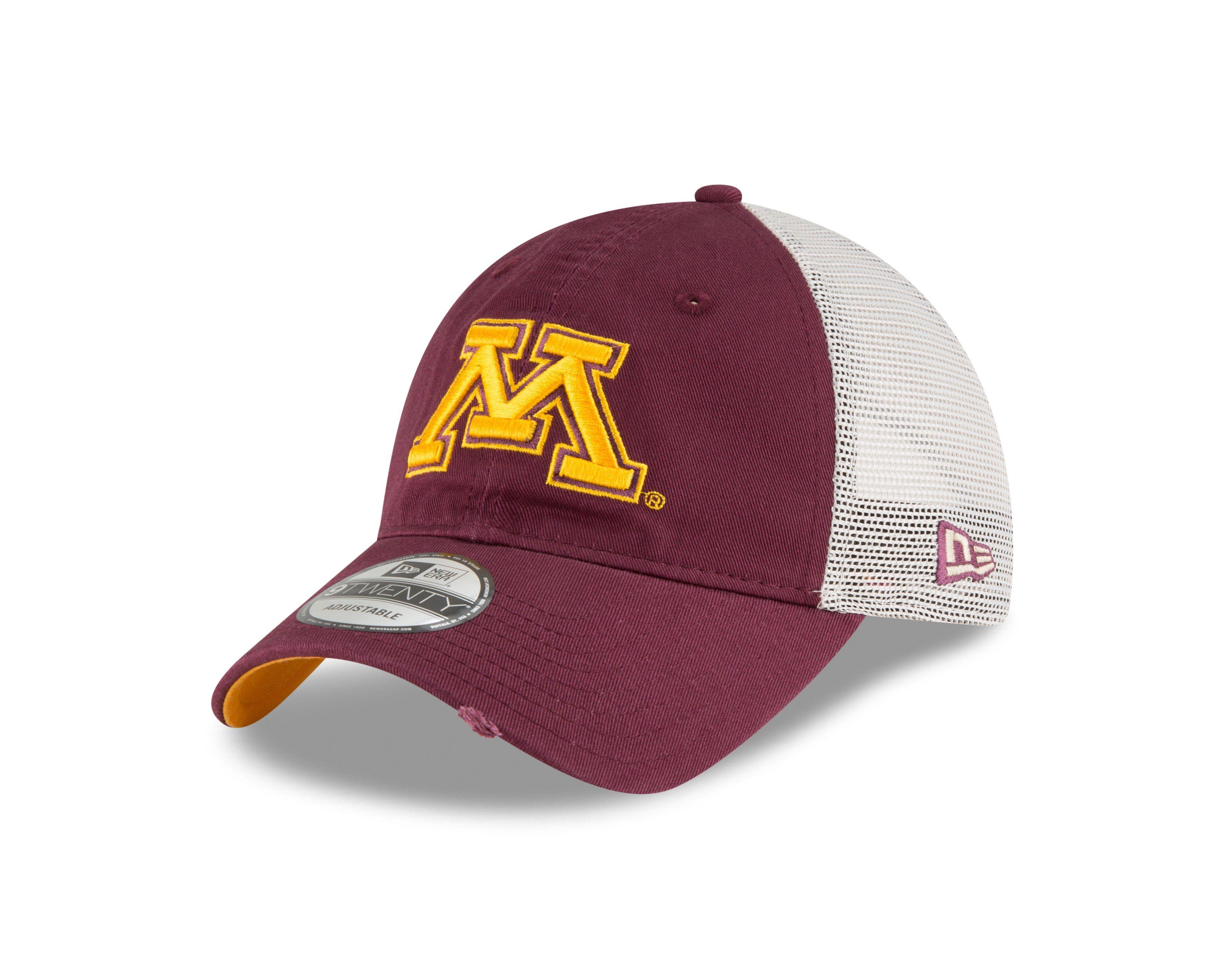 cheap for discount d0d6f 2cea3 ... snapback hat adjustable gold maroon 30507 68349 clearance minnesota  golden gophers new era state back 9twenty trucker adjustable hat 709a6  02664 ...