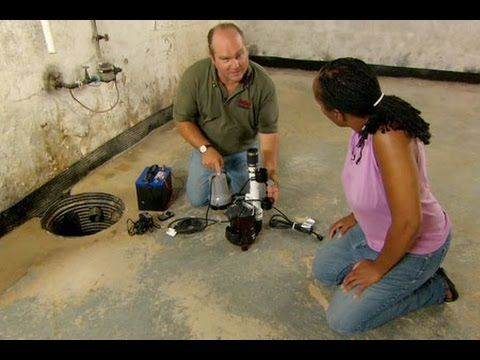 How To Install A Battery Operated Backup Sump Pump This Old