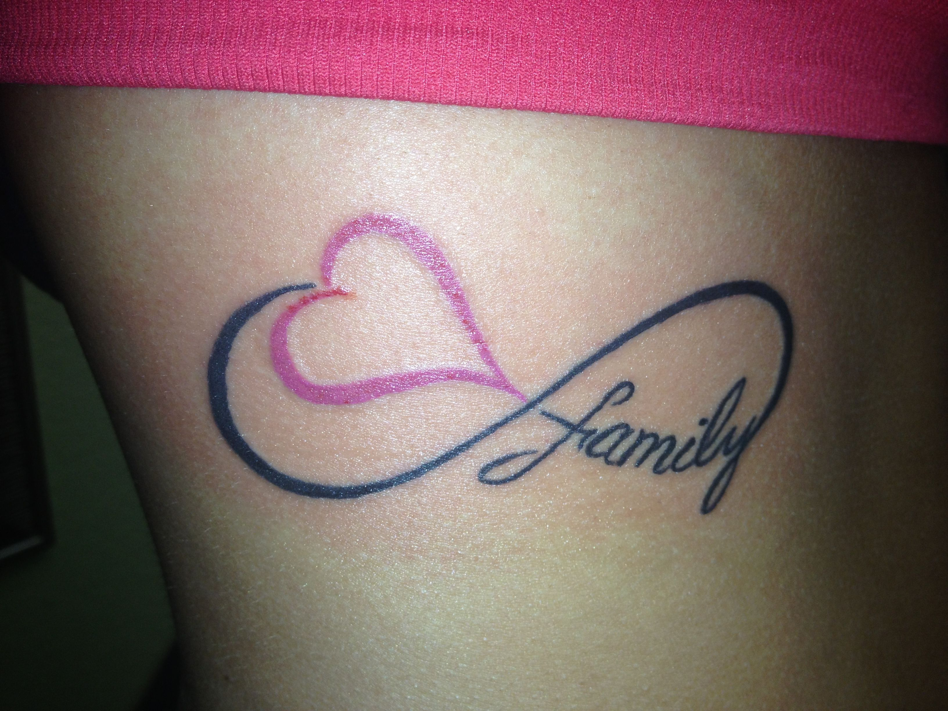 Love and family forever life pinterest tattoo for Love always tattoo