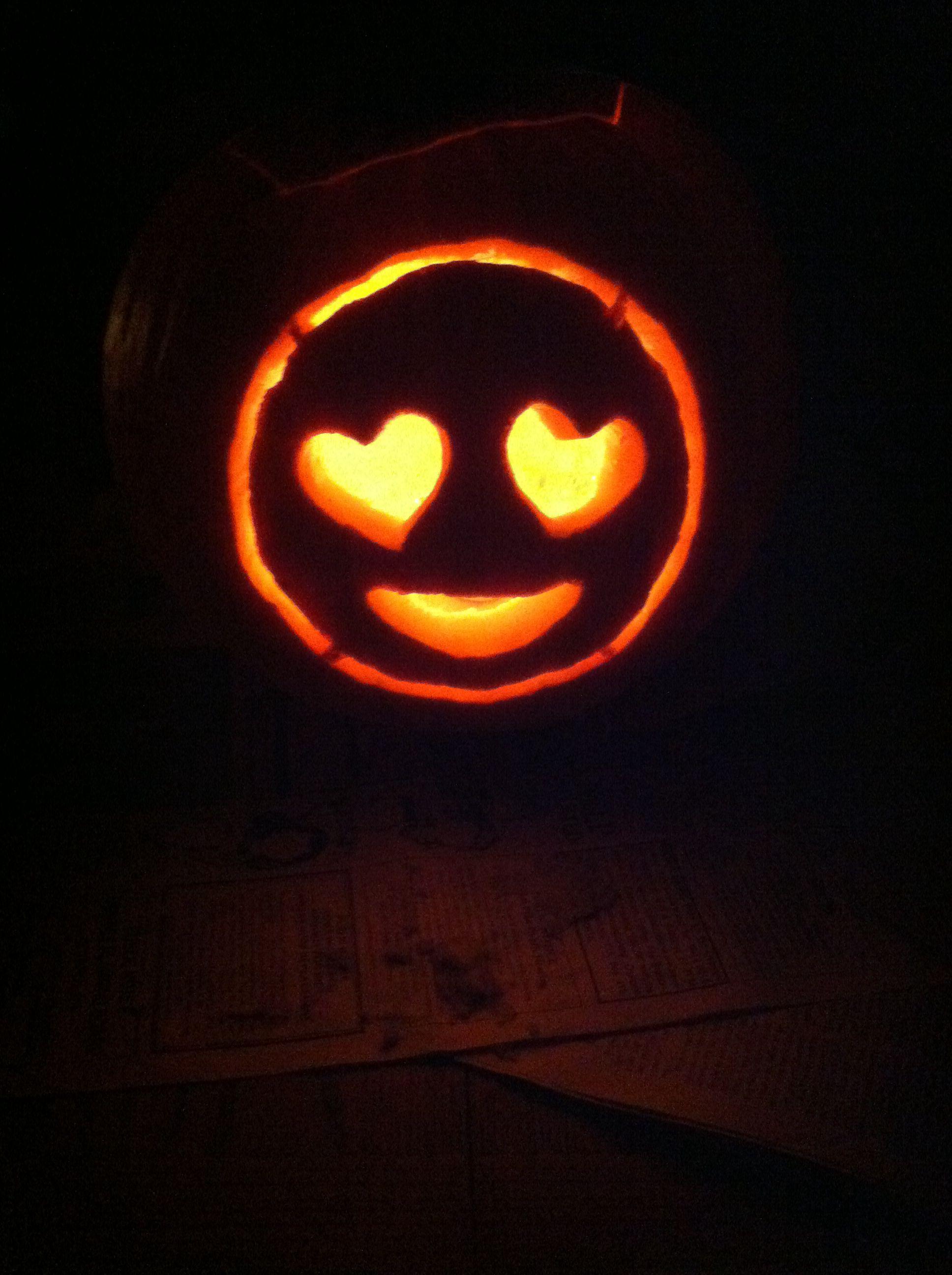 Emoji Halloween pumpkin 2014 Emoji pumpkin carving