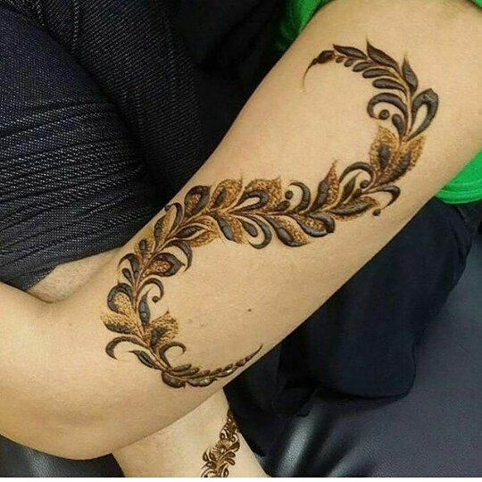 48 Likes 7 Comments مشغل روفان الحناء Fatmahalnasser7 On Instagram حنا حنه نقش نقش Modern Henna Designs Latest Mehndi Designs Simple Mehndi Designs