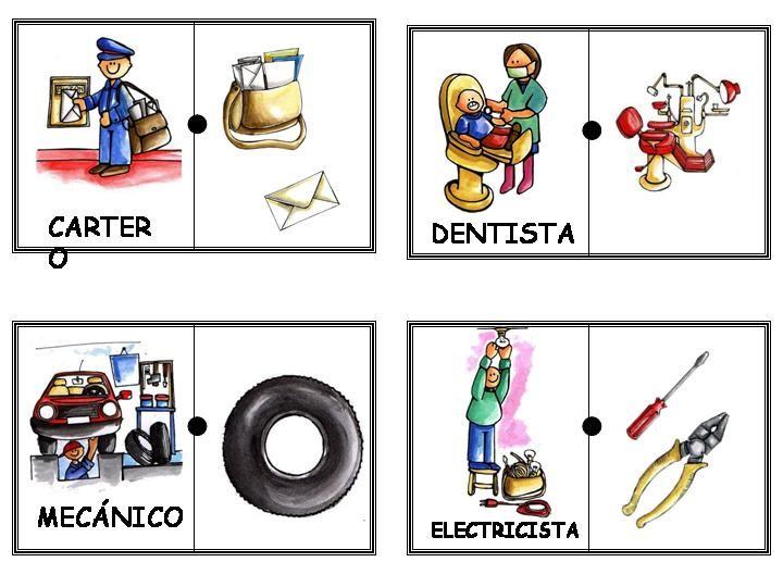 Los Oficios Y Sus Herramientas Para Niños Imagui Sandra Ponte