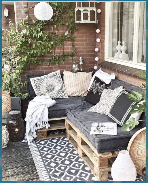 Photo of {ResimSayisi} #Balcony #comfortable #couch #decoration #design