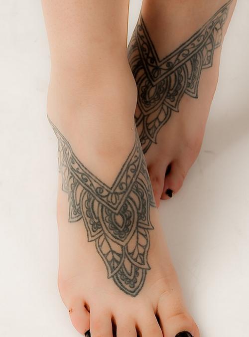 50 Charming Foot Tattoo Designs Mandala Pinterest Tattoo