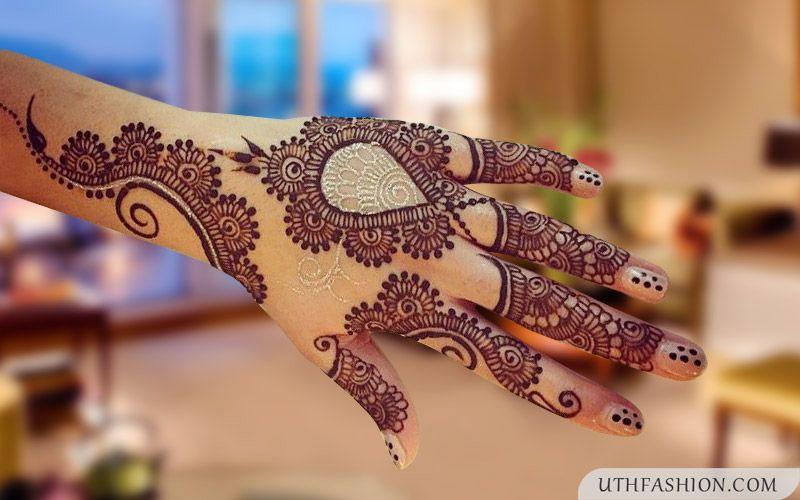 Mehndi For Girls Easy : Easy mehndi designs for hands girls henna