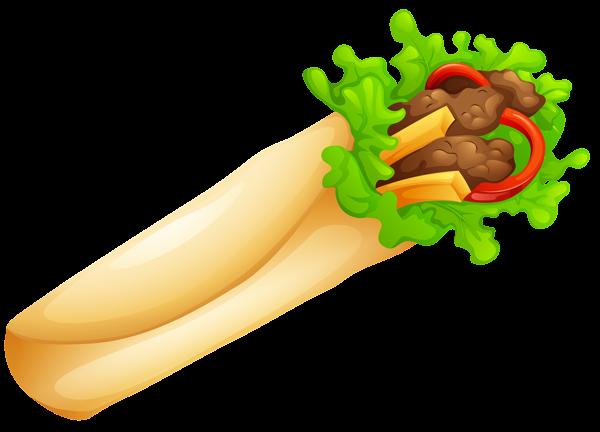 Doner Kebab Transparent PNG Clip Art Image (с изображениями)