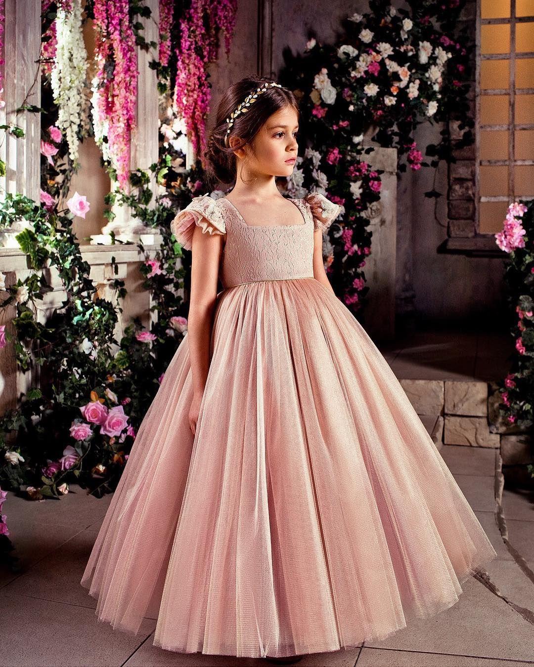 Atractivo Damas De Honor Vestidos De Las Niñas Friso - Colección de ...