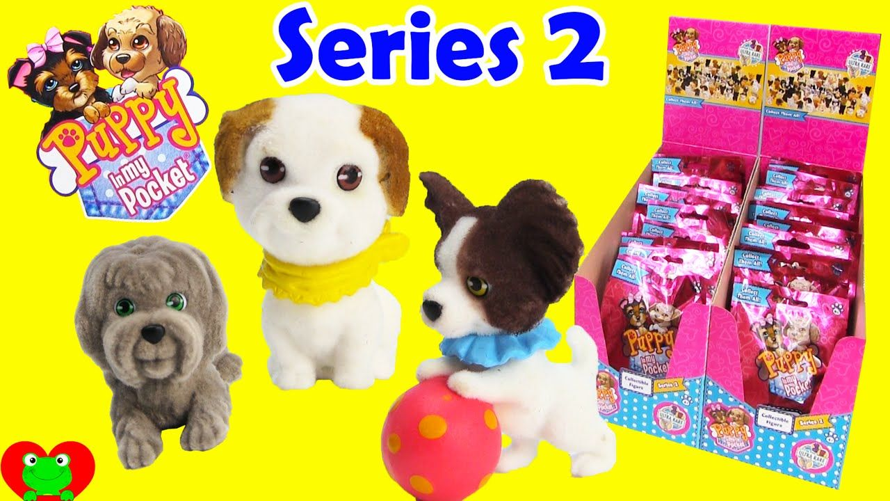 Puppy In My Pocket Series 2 Bunny Mom Puppies Dog Toys