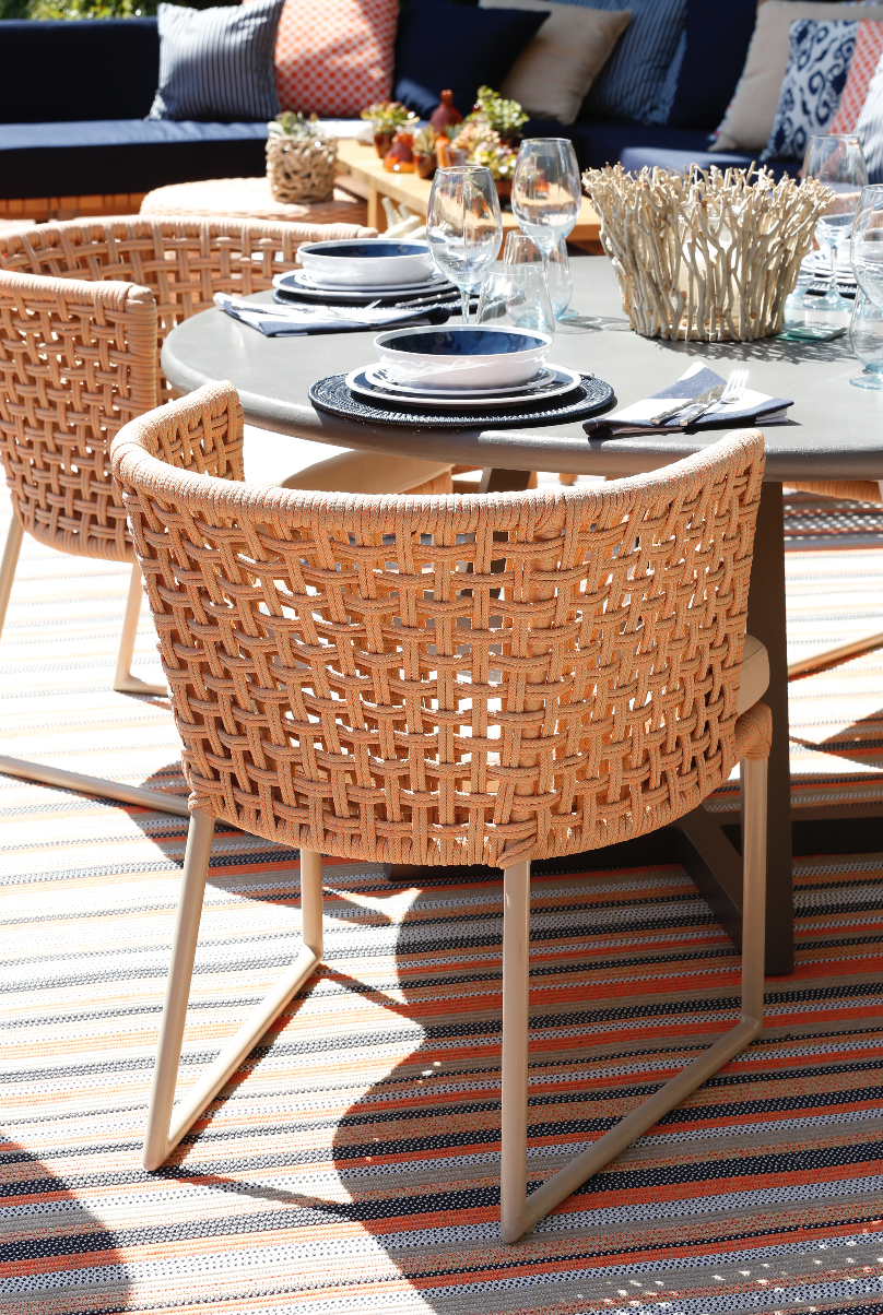 Tidelli - Leader in Rope Furniture For Outdoors - Pin By Tidelli Outdoor Living On Mesh Collection Pinterest