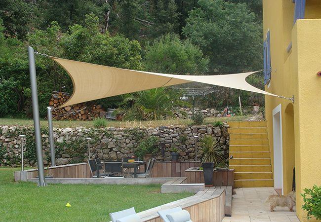 Voiles Pour Jardin A Nice Amenagement Exterieur Toile Solaire