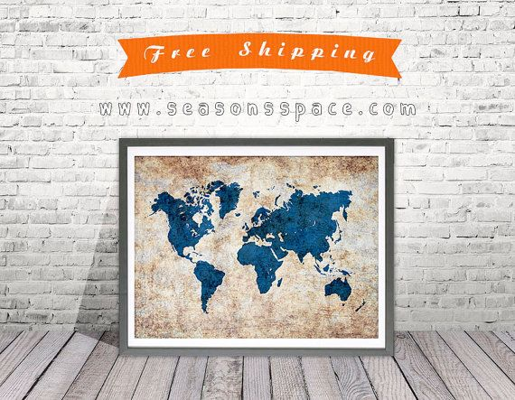 Map of the world pop art map modern style map art print travel map of the world pop art map modern style map art print travel decor art travel nursery world map wall decor map gift idea home decor gumiabroncs Image collections