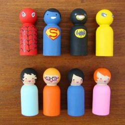 Keep it handmade! Here are 23 DIY Toy Projects to keep your kids entertained. (image via Aesthetic Outburst)