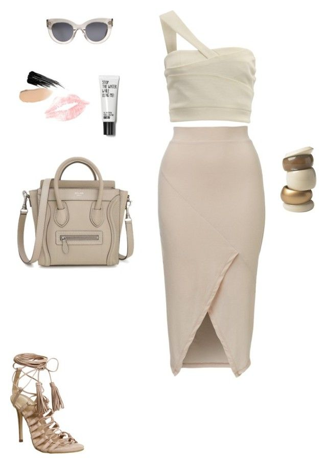 """""""Без названия #709"""" by alina-chipchikova ❤ liked on Polyvore featuring CÉLINE, Office, House of Fraser and Urban Decay"""