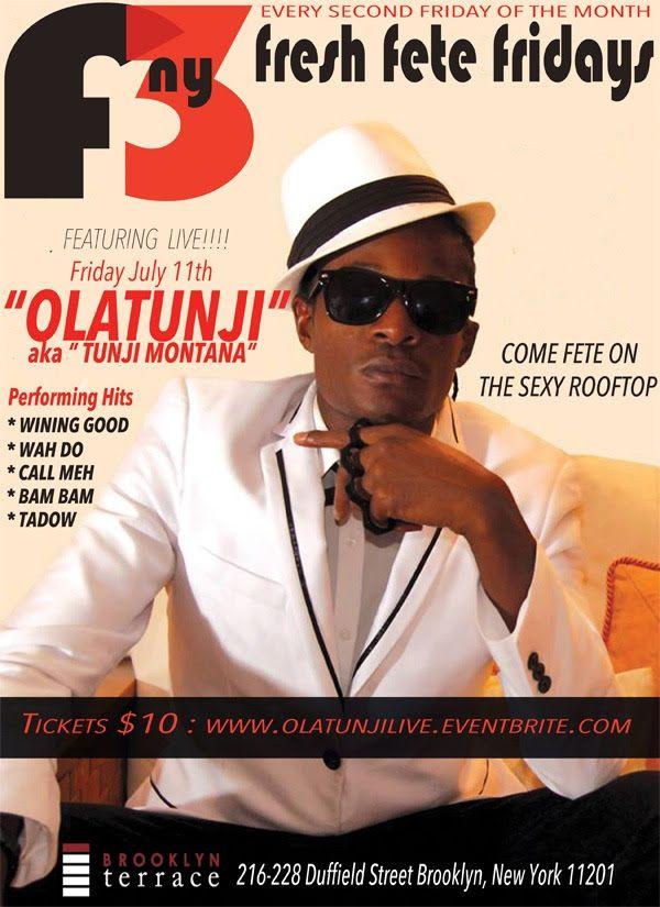Olatunji Live !!!! We 2014 Events, Parties  Concerts Pinterest We