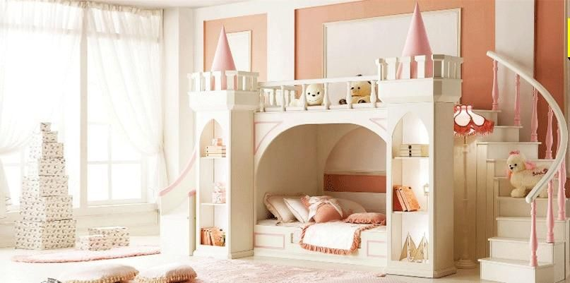 Princess Castle Bunk Beds Twin Beds Children S Furniture For