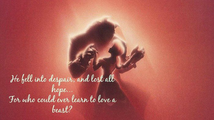 When A Man Loves A Woman Movie Quotes: 17 Disney Beauty And The Beast Quotes With Images