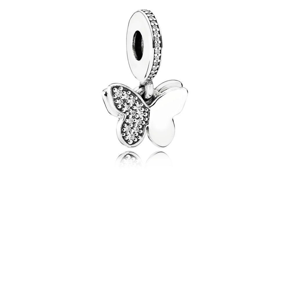 clip pandora farfalle