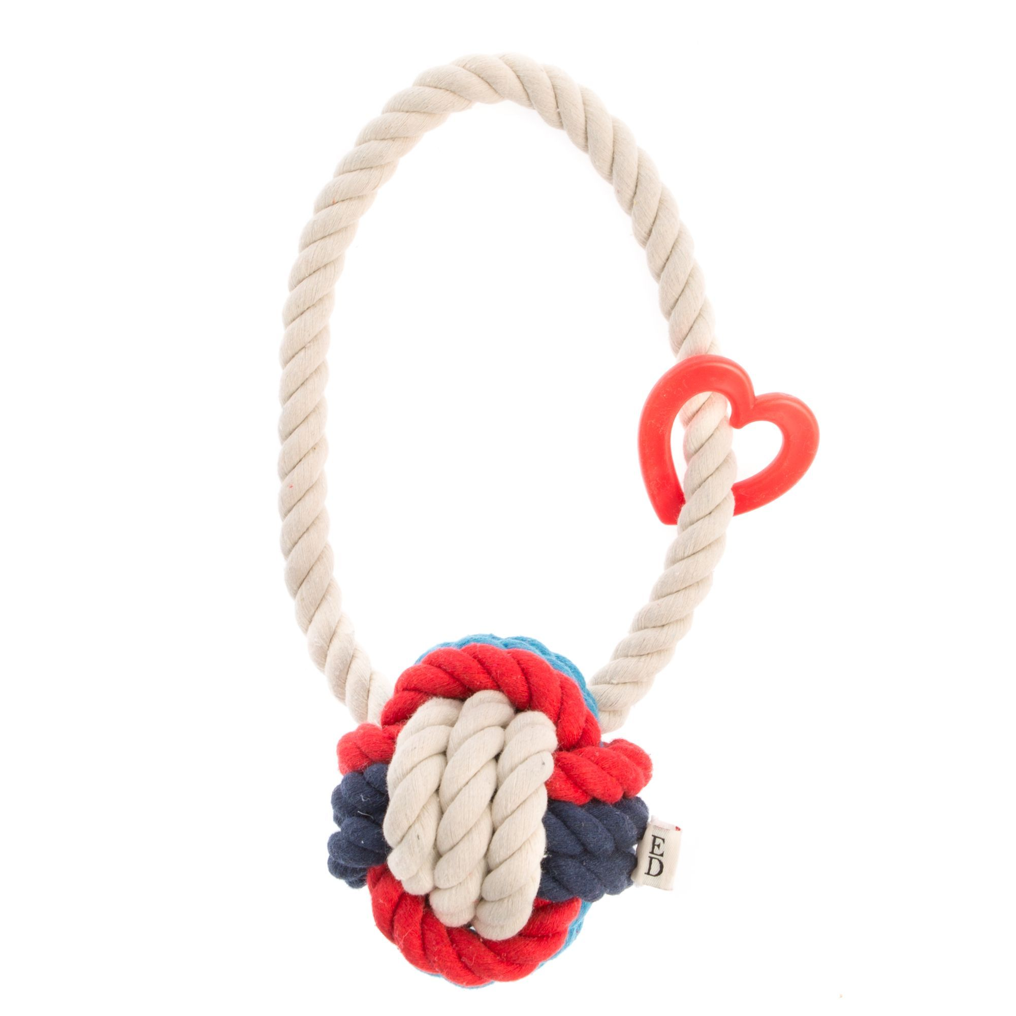 Ed Ellen Degeneres Monkey Rope Dog Toy Red Rope Dog Toys