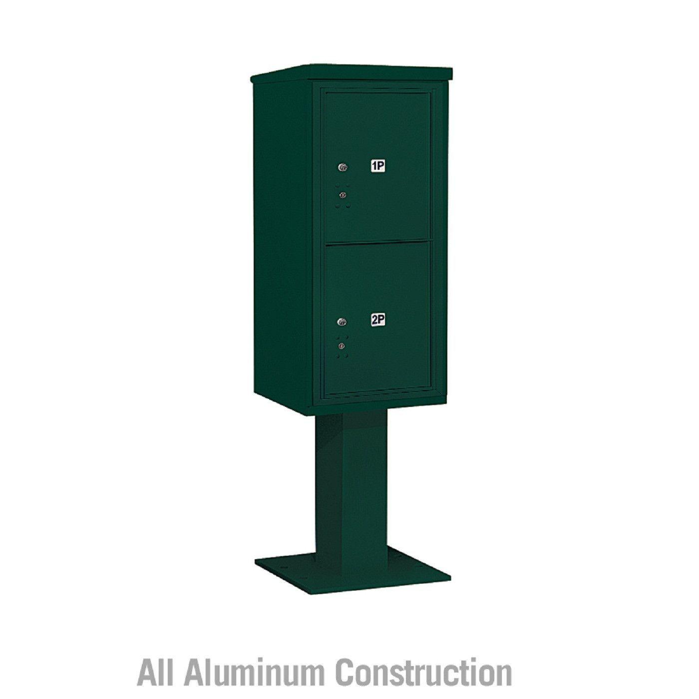 Salsbury Industries 4C+ Horizontal Mailbox Unit 10 Door Single Column Front Loading Private Access