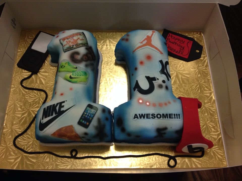 Cool 11 Year Old Birthday Boy Cake Krystals Kreations