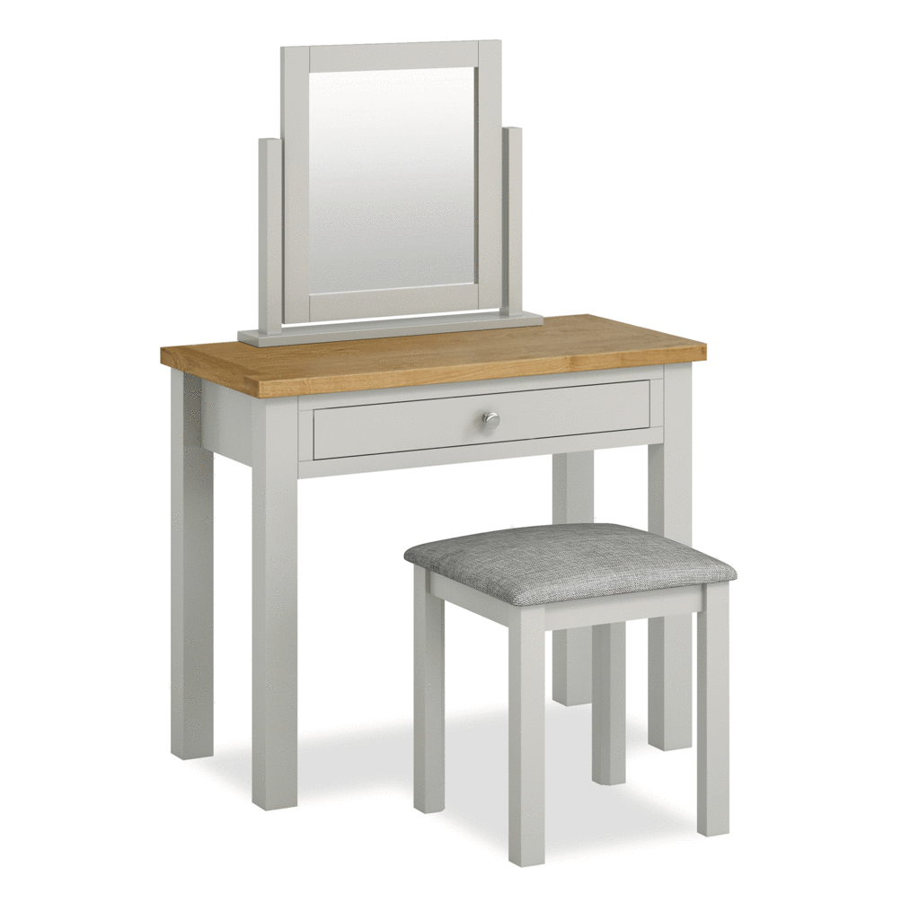 Best Farrow Grey Dressing Table Set Dressing Table Set 400 x 300