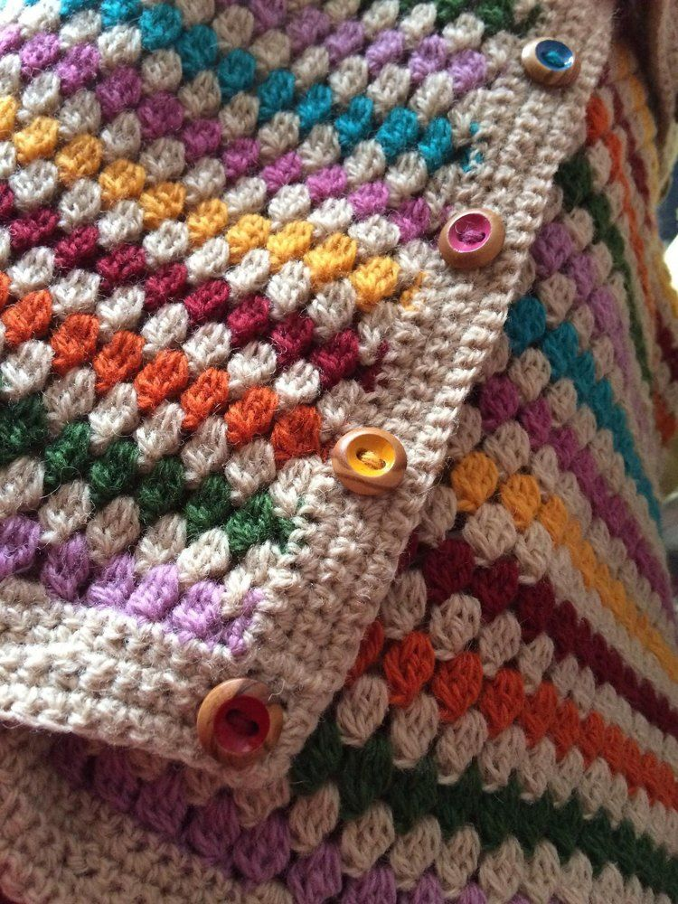 Jessica Cardigan Crochet pattern by Catherine Waterfield #kleidunghäkeln