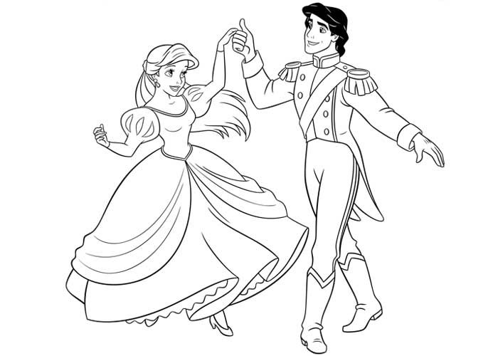 Disney Princess coloring pages  Vrityskuvat  Pieni Merenneito