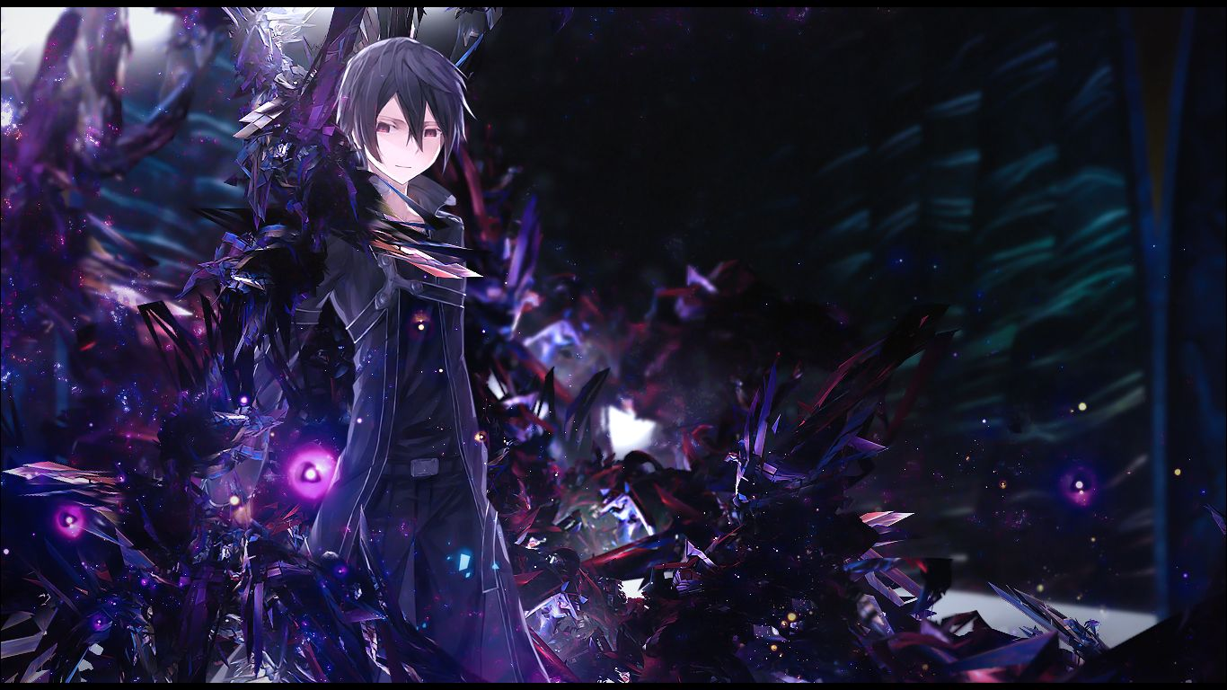 Cool Kirito Sword Art Line 0253 HD Wallpaper Dengan
