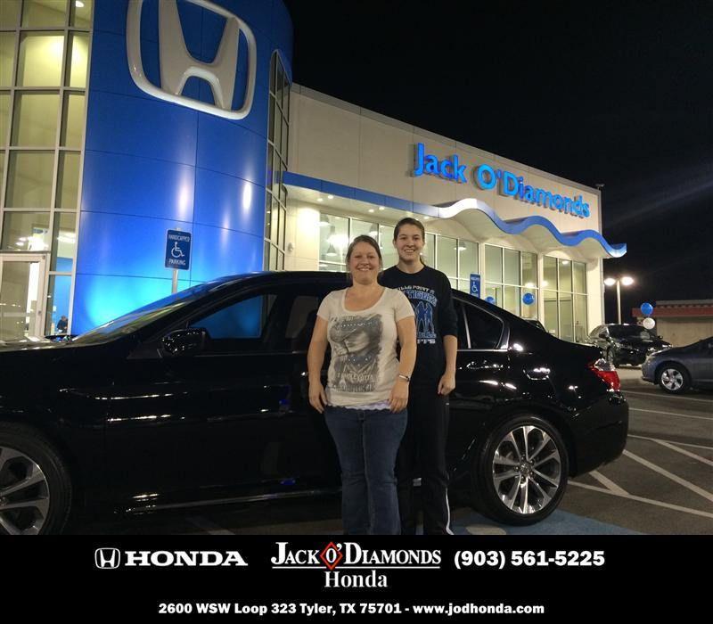 #HappyBirthday To Jacinda Futch From Kevin Haire At Jack O Diamonds Honda!