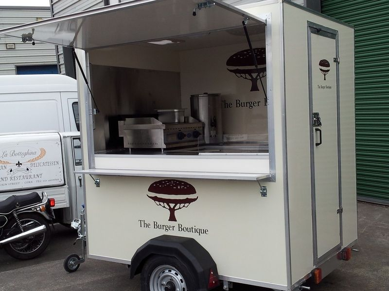 Catering trailer food kiosk food trailer for sale for Design sale mobel