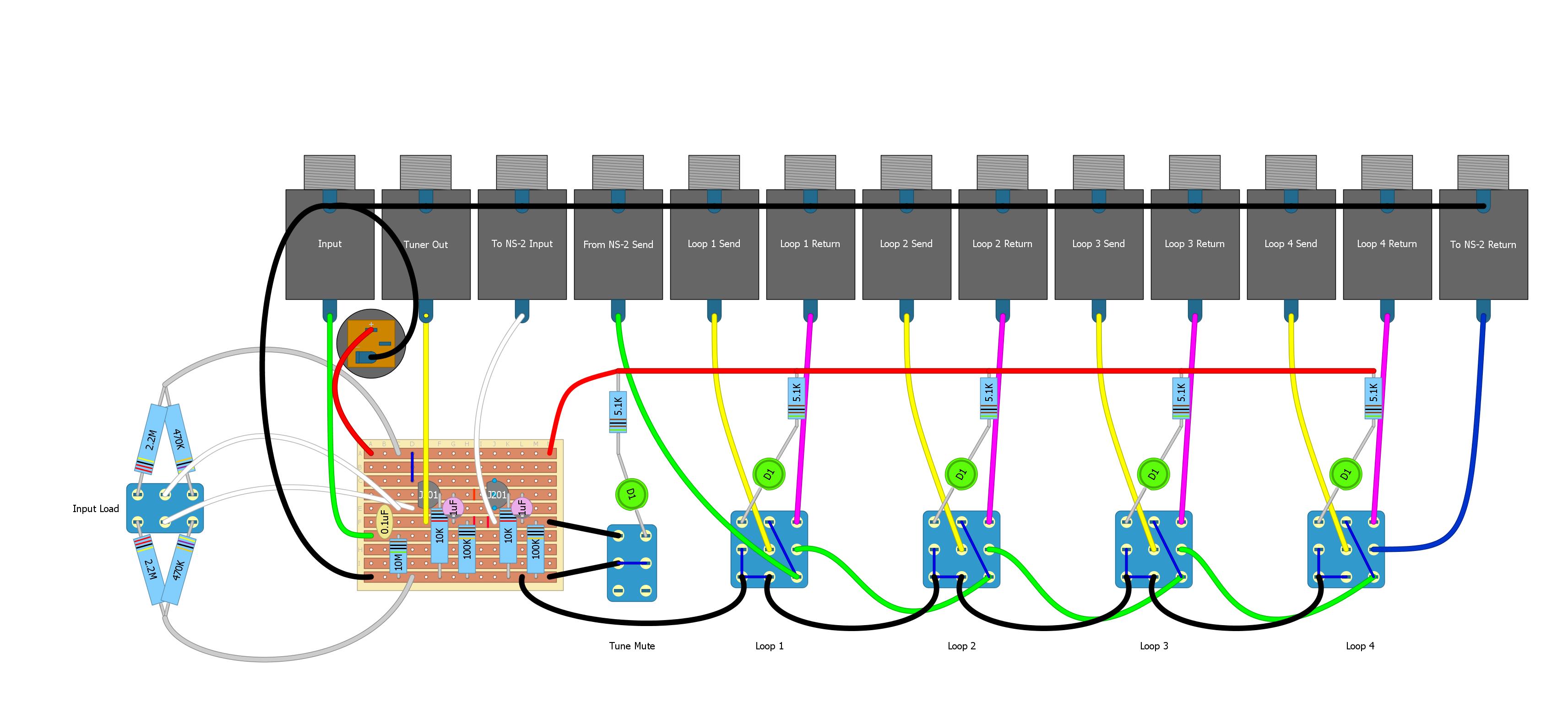 Diy Loop Pedal Buscar Con Google Esquemas Eletronicos Circuito Eletronico Eletronicos