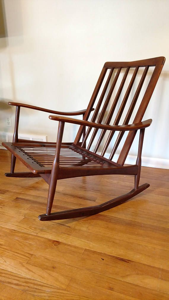 danish modern rocking chair metal tub chairs mid century made in italy products