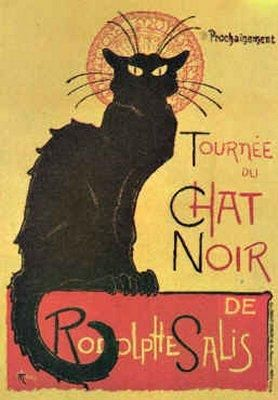 Tournee du chat noir by Théophile Alexandre Steinlen :: artmagick.com