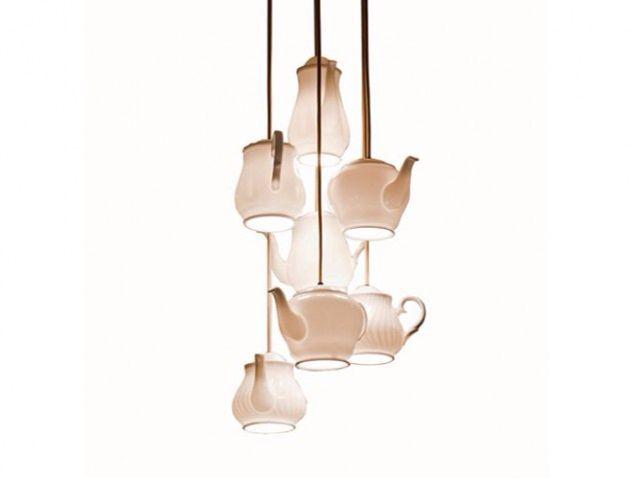 Lustre théière | Lampe théière, Idée luminaire, Lamp