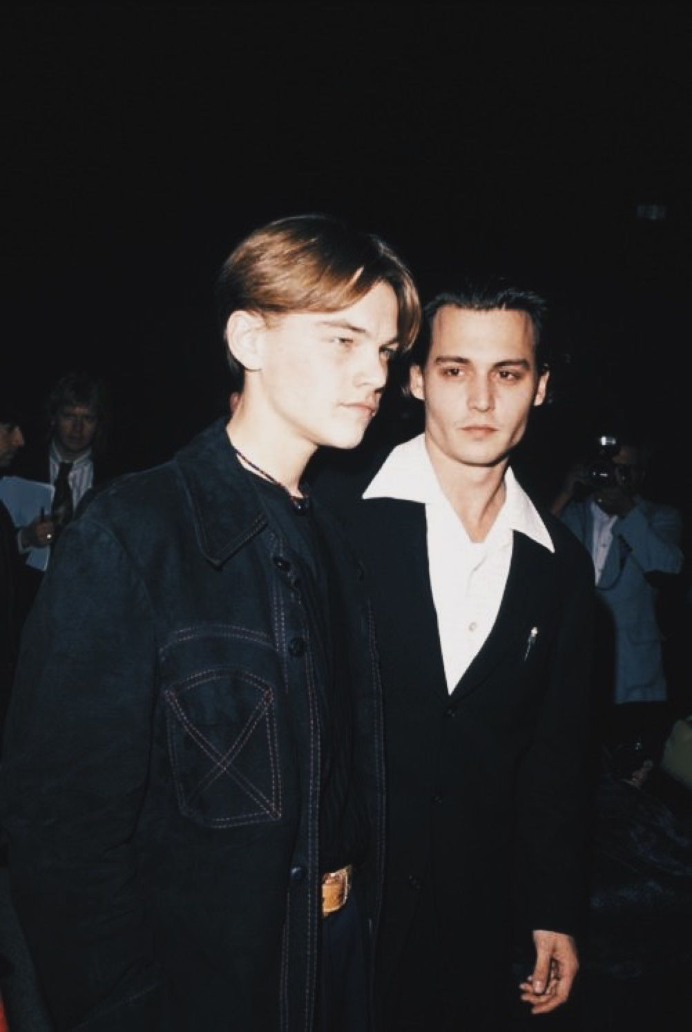 Leonardo Dicaprio And Johnny Depp Admirable People In