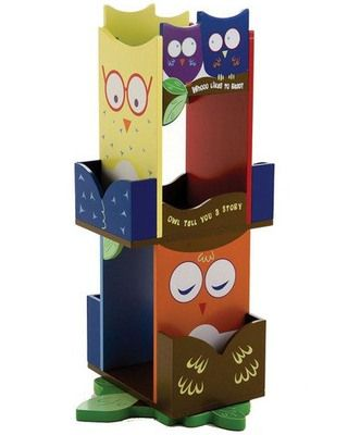 owl bookcase