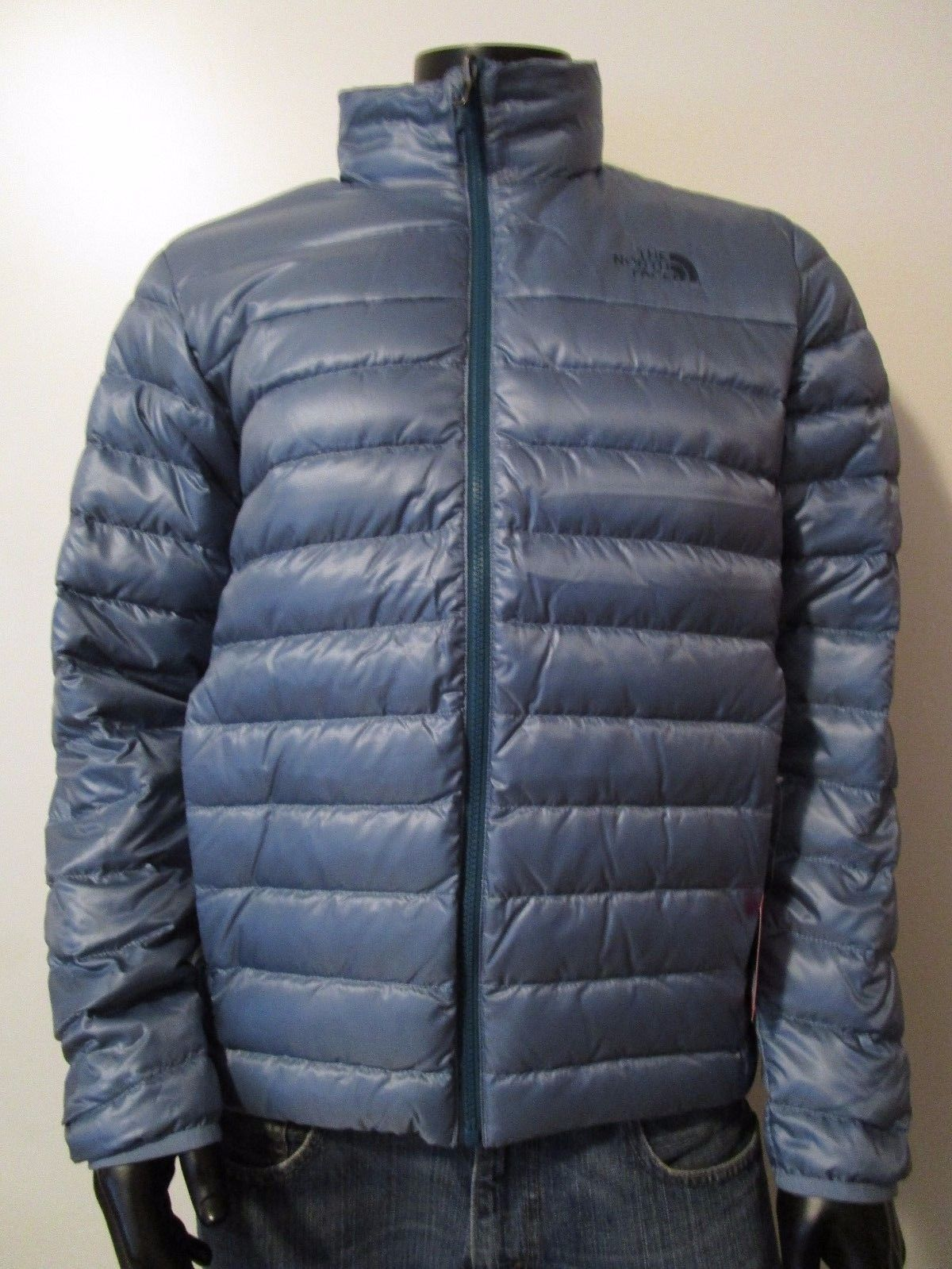 The North Face Men S Flare 550 Down Jacket In Provincial Blue Small